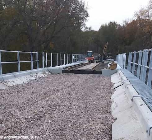 Bridge Rebuild, Nebraska City NE