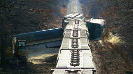 train crash derailment